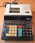 TA Triumph-Adler 1428 PD  desk calculator, 14 digit, 2-color, BEIGE BLACK JAPAN