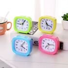 Lovely Square Small Bed Compact Travel Quartz Beep Mini Accurate Alarm Clock New