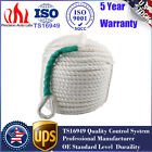 "New 1/2""x100' White Twisted Three Strand Nylon Anchor Rope Boat with Thimble US"