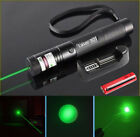 50Miles 532nm Green Tactical Laser Pointer 18650 Lazer Pen Visible Beam Lights