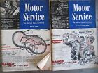 Original 1959 Motor Service Shop Magazines - Set of Two