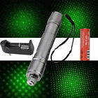 20Miles  Military Green 532nm Laser Pointer Pen Visible Beam Light +Battery+Cap