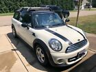 2011 Mini Clubman  2011 Pepper White with Racing Stripes