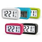 Alarm Morning Clock Smart Backlit Bedside Travel Snooze Portable Digital Clock #