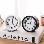 Home Decor Mute Children's Bedside Students ABS Round Fashion Alarm Clock