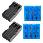 8PC Ultrafire 3000mAh 18650 Battery 3.7v Li-ion Rechargeable Battery /Charger US