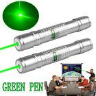 2PCS 50Miles Range Green Laser Pointer Powerful Lazer Pen Visible Beam Light USA