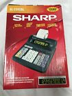 EL-1192BL Sharp Suppet Bright LCD Display Electronic Printing Calculator New