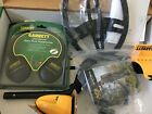 GARRETT ACE 400 METAL DETECTOR With 8.5X11 COIL headphones coil rain covers