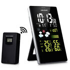 New LCD Wireless Weather Forecast Station Temperature Humidity Thermometer