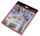 17pc Air Compressor Accessory Kit Tyre Inflator Blow Gun Fittings Connectors