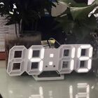 3D Digital Clock LED Display Electronic Clock USB Plug Clock Stereo Clock CY