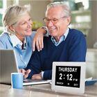 Digital Day Clock Calendar Alarms Memory Loss Dementia Elderly Large Date Time