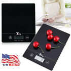 LCD Display Digital 11Lb Kitchen Scales Food Touch Sensitive Electronic Cuisine