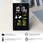 Digital Thermometer Wireless Weather Forecast Station Outdoor Sensor Clock LCD