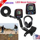 LED Display Metal Detector Deep Sensitive Search Gold Digger Hunter Waterproof