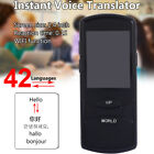 FF9D Real Time Portable Smart Voice Translator Multifunctional 42Languages