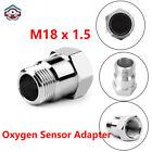 O2 Oxygen Sensor HHO CEL Eliminator Extender Adapter Test Pipe Spacer M18X1.5 32