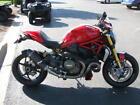 2015 Ducati Monster  2015 Ducati Monster 1200 S Stripe Red / White Stripes