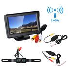 Waterproof Wireless Car Rear View TFT Color Monitor &Transmitter Receiver Camera