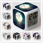 EXO Alarm Clock Color Changing LED Night Watch Student Gift