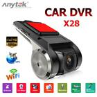 Anytek X28 1080P FHD Car DVR 2MP Camera Recorder WiFi ADAS G-sensor Dash Cam