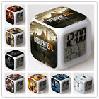 Resident Evil Alarm Clock Alice Color Changing LED Night Watch Student Gift