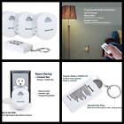 Electrical Outlet Switch Wireless Remote Control Side Plug 3 Outlets Pack NEW
