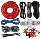 4 Gauge Amp Kit Amplifier Install Wiring Complete 4 Ga Installation Cables 2200W
