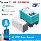 Sonoff S31 Smart Plug Socket Adapter Switch 16A Wifi APP Remote Power Moniter LX