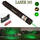 20Miles 532nm  Green Laser Pointer Lazer Pen Visible Beam Light+18650+Charger