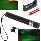 Newly 532nm 303 Green Laser Pointer Lazer Pen Visible Beam Light+18650+Charger