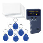 RFID T5577 125KHz EM4100 ID Card Copier Duplicator w/ 6 Pcs T5577 Writable Tags