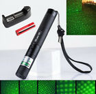 Green SD Laser 303  Pointer Powerful Hunting Laser Bore Sighter+Battery+ Chagrer
