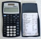 TEXAS INSTRUMENTS TI-30X IIS Solar Calculator with cover