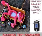 DIGITAL ALCOHOL ANALYZER BREATH TEST METER DETECTOR CAR POLICE SAFETY LCD