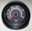 10-80 MPH Medallion Speedometer