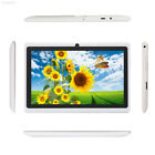 "1791 Cheap 7"" Quad Core Android 4.4 Tablet PC 1+16GB Bluetooth Dual Cam White AU"