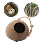 ABE5 Coconut Shell Parrot Nest Cage 1pcs Stand Climbing Safe Breeding