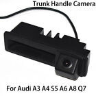 CCD Car Rear View Reverse Trunk Handle Camera for Audi A4 B8 8K A8 D4 4H S5 B8.5