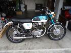 1969 Honda CB  1969 HONDA CB 350 MOTORCYCLE FROM ESTATE BARN FIND!