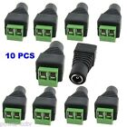 2.1mm DC female Jack Plug-in Power Connector Adapter CCTV Surveillance NVR If