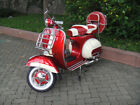 ORIGINAL VESPA STANDARD VBB1M 150cc 1960's  FULLY RESTORED FREE SHIPPING RED & C