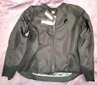 NWT MEDIUM Icon Overlord Stealth Textile Jacket BLACK