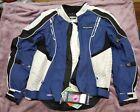 NWT MED Fieldsheer Shadow Jacket Blue