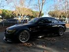2009 BMW 3-Series E92 UPERCHARGED 2009 M3 Jet Black BMW E92 620+HP VF620 6MT Black Interior
