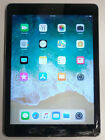 "Apple iPad Air 1st Gen, 16 GB, WiFi, 9.7"", Space Gray, Cracked Screen, Unlocked!"