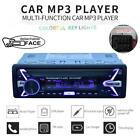 Bluetooth Car Radio Audio Stereo MP3 Player 7Color Light Front Detachable Panel