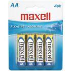 MAXELL(R) 723465 - LR64BP Maxell(R) Alkaline Batteries (AA; 4 pk; Carded)
