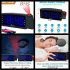 Digital Alarm Clock FM Radio with USB Charger Bedrooms LED Display Clocks NEW